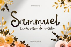 Sammuel Font Product Image 1