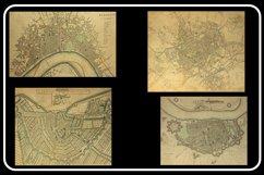 Vintage Antique City World Maps! 32 JPG Files Product Image 2