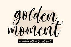 Golden Moment | Handwritten Script Product Image 1