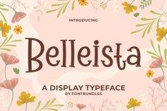 Web Font Belleista Product Image 1