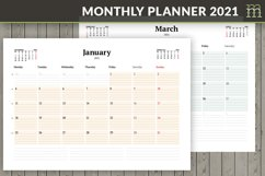 Monthly Planner 2021 Product Image 1