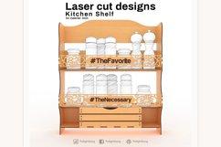 Kitchen shelf - Laser cutting File Product Image 3