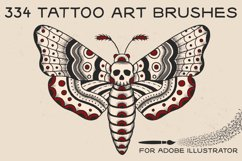 Tattoo Art Brushes for AI Product Image 1