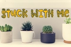 Web Font Thirsty Cactus - A Silly Cacti Font Product Image 6