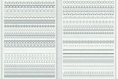 Decorative Paisley Pattern Brushes Product Image 4