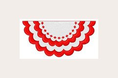 Canadian Bunting -Machine Embroidery Design Product Image 1