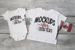 MOCK-UP BUNDLE CANADIAN THEME - BABY BODYSUITS, T-SHIRTS Product Image 2