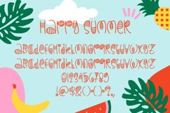 Happy Summer - Decorative Display Font Product Image 3