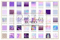 Blue Shades BUNDLE digital paper pattern Product Image 4