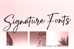 Brillany - Handwritten Font Product Image 4