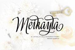 Meikayla script Product Image 1