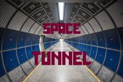 Galactica Space Grid Font Product Image 3