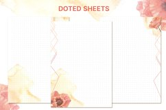 Printable undated planner's sheet A5 Product Image 4