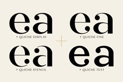 Quiche Font Family Product Image 4