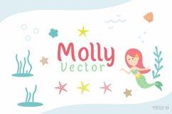 Molly - Mermaid Display font Product Image 4