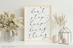 Arletta Stylist Modern Script Font Product Image 5
