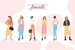 Shopping woman characters Product Image 2