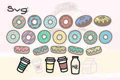 Donut Grow Up a Fun Font with extra Doodles Product Image 5