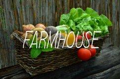 Linda Farmhouse Font Product Image 3