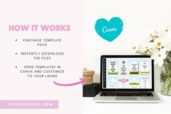 40 Pinterest Canva Templates with Pink Blush and Gray Theme Product Image 4