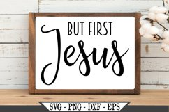 But First Jesus SVG Product Image 2