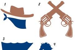 Cowboy Clipart Product Image 2