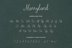 Marryland Handwritten Script Monoline Product Image 4