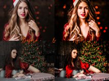 CHRISTMAS Lightroom Presets Bundle for Mobile and Desktop Product Image 9