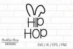 Hip Hop Bunny Easter SVG Product Image 1