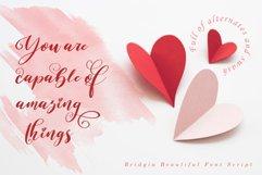 Bridgia Valentine - WEB FONT Product Image 2