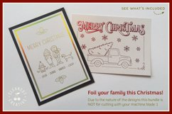 Foil Quill Edition - Cute Christmas Clan - family figures Product Image 2