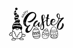 Gnome Happy Easter SVG. Happy Easter Svg, Gnome Svg Product Image 2