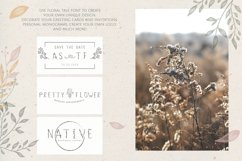 Flower Tale - Handwritten Floral Font Product Image 5