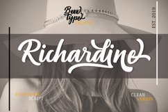 Richardine Script Product Image 1