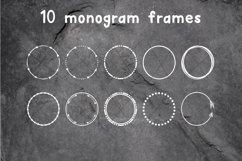 Arrow Monogram A Hand-Lettered Monogram Font Product Image 4