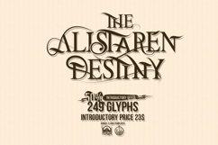The Alistaren Font Product Image 3