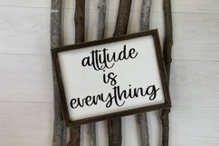 Attitude - A Hand-Lettered Script Font Product Image 3