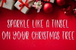 Christmas Tinsel - A Tinsel Inspired Christmas Font Product Image 4