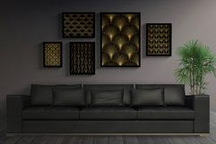Art Deco Wallpapers Pack   PNG EPS JPG   Vol.4 Product Image 3