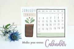 Procreate Brush Stamp Trendy Planner-Planner Procreate Brush Product Image 3