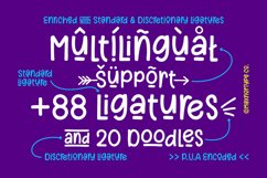 BigBuck - a Quirky Fun Cuttable Font Product Image 5