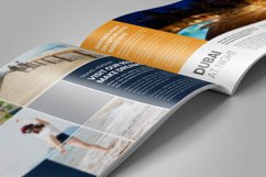 Holiday Travel Brochure Catalog Design v4 Product Image 4