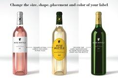 Wine Mockup Set - Photoshop PSD Product Image 2