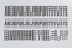 Dezire Stacked - Mirrored Font Product Image 3