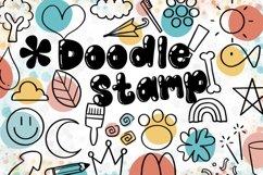 Doodle Procreate brushes, Procreate brushes, doodle stamp Product Image 2