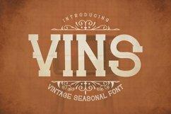 Web Font Vins Font Product Image 1