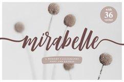 Mirabelle - Modern Script Product Image 1