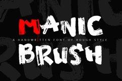 Manic Brush Script Font Product Image 1