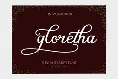 Gloretha Script Product Image 1