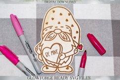 Glowforge Valentine's Day Gnome DIY Valentine Gift Product Image 1
